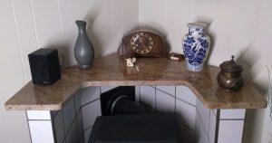 Wood Stove Granite Top