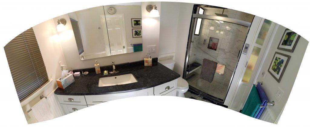 Master Bathroom Panoramic View